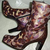 Обувь ручной работы. Ярмарка Мастеров - ручная работа гипюр-гламур. Handmade.