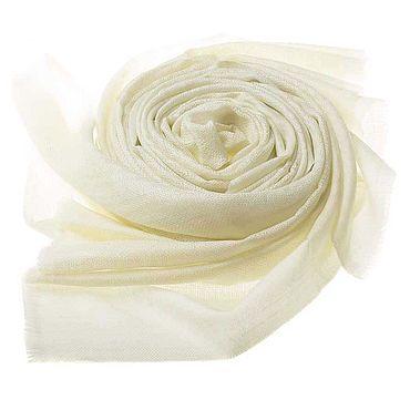 Accessories handmade. Livemaster - original item Cashmere stole, cashmere scarf light yellow shade. Handmade.