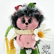 Куклы и игрушки handmade. Livemaster - original item hedgehog Chocolate. Handmade.