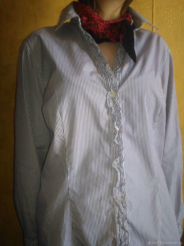 0d4d39fd932 Одежда. Ярмарка Мастеров - ручная работа. Купить Винтаж  Женская блузка-  рубашка марки ...