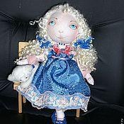 Куклы и игрушки ручной работы. Ярмарка Мастеров - ручная работа Беляночка (текстильная кукла). Handmade.
