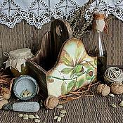 """Для дома и интерьера ручной работы. Ярмарка Мастеров - ручная работа подставка для специй  """"Chataignes"""". Handmade."""