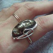Украшения ручной работы. Ярмарка Мастеров - ручная работа Кольцо с Симбирцитом в серебре. Handmade.