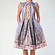Платье `Алиса в стране чудес` 11249