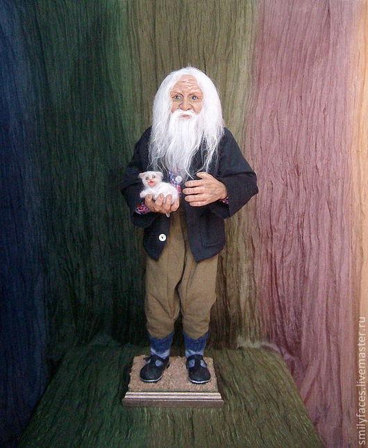 Коллекционные куклы ручной работы. Ярмарка Мастеров - ручная работа. Купить интерьерная авторская кукла Милосердие. Handmade. Интерьерная кукла