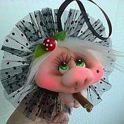 handmade. Livemaster - original item doll Popik glamorous witch. Handmade.