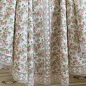 Для дома и интерьера handmade. Livemaster - original item Linen tablecloth on the big table