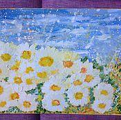 Картины и панно handmade. Livemaster - original item Runaway Daisy.. Handmade.