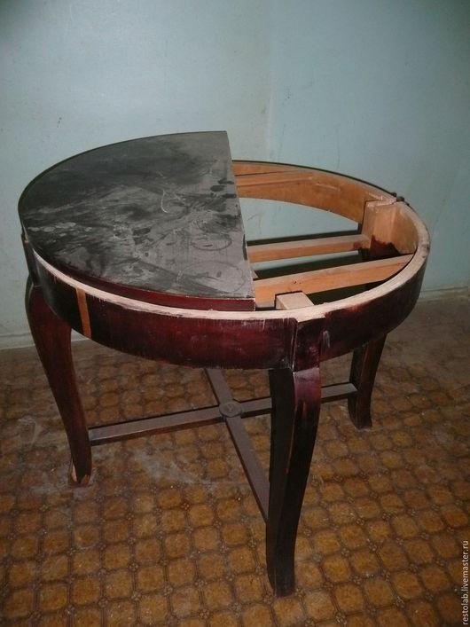 Реставрация. Ярмарка Мастеров - ручная работа. Купить Реставрация круглого стола в стиль прованс.. Handmade. Реставрация мебели, патина, лак