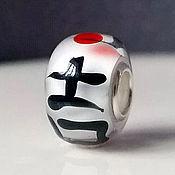 """Украшения ручной работы. Ярмарка Мастеров - ручная работа """"Удача"""" шарм для браслета пандора. Handmade."""