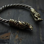 Украшения handmade. Livemaster - original item Viking bracelet ,Viking bracelet, silver bracelet. Handmade.