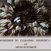 Материалы для творчества ручной работы. Ярмарка Мастеров - ручная работа видео урок по валянию ковриков из флиса. Handmade.