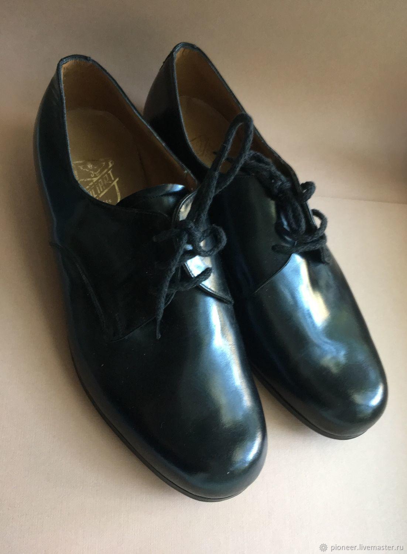 Vintage men's shoes Italy size 40 NEW Days of the Soviet Union – купить на Ярмарке Мастеров – GLAA3COM | Винтажная обувь, St. Petersburg