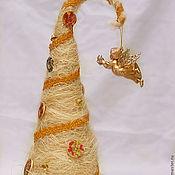 """Подарки к праздникам ручной работы. Ярмарка Мастеров - ручная работа Новогодняя елочка ручной работы """"Нежность ангела"""". Handmade."""