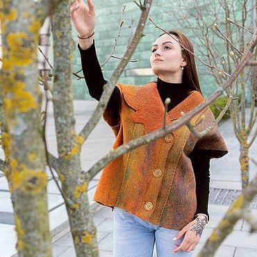 Clothing handmade. Livemaster - original item Felted women`s vest