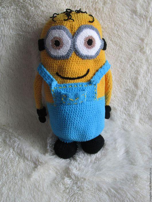 """Текстиль, ковры ручной работы. Ярмарка Мастеров - ручная работа. Купить """"Миньон"""" - подушка-игрушка. Handmade. Комбинированный, текстиль"""
