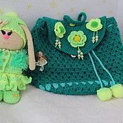 Куклы и игрушки ручной работы. Ярмарка Мастеров - ручная работа Вязанный зайчик. Handmade.