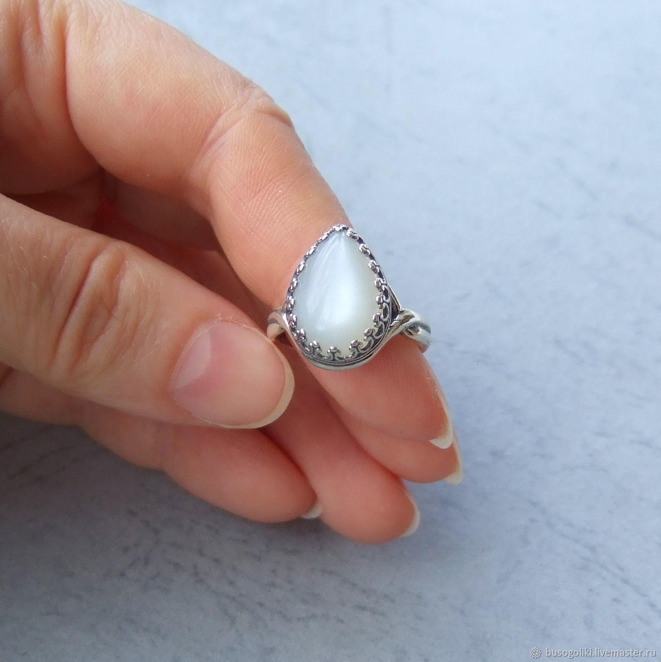 купить серьги серебро с лунным камнем