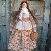 Куклы и игрушки ручной работы. Ярмарка Мастеров - ручная работа Аксинья - путешественница. Handmade.