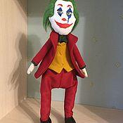 Портретная кукла ручной работы. Ярмарка Мастеров - ручная работа Джокер. Handmade.