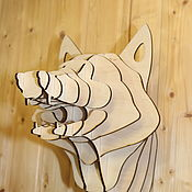 Скульптуры ручной работы. Ярмарка Мастеров - ручная работа Голова Лисы. Handmade.