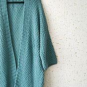 """Одежда ручной работы. Ярмарка Мастеров - ручная работа Кардиган """"Лазурный"""". Handmade."""
