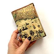 Канцелярские товары handmade. Livemaster - original item Passport cover, cover document