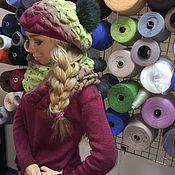 Одежда ручной работы. Ярмарка Мастеров - ручная работа Костюм вязаный из 30% итальянского мохера. №101. Handmade.