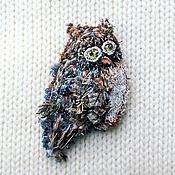 Украшения handmade. Livemaster - original item Brooch Owl in Bohemian style. Handmade.