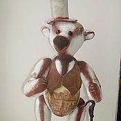 """Куклы и игрушки ручной работы. Ярмарка Мастеров - ручная работа мишка-тедди """"Сельский денди"""". Handmade."""