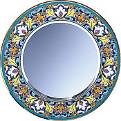 Для дома и интерьера ручной работы. Ярмарка Мастеров - ручная работа зеркало декоративное,круглое с ручной росписью.. Handmade.