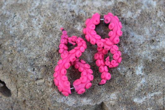 Лжерастяжки розово-черные Щупальца (тентакли,осьминоги)