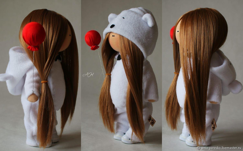 Кукла в костюме белого мишки, Тыквоголовка, Алексеевка,  Фото №1