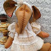 Куклы и игрушки ручной работы. Ярмарка Мастеров - ручная работа Эльза, интерьерный слон. Handmade.