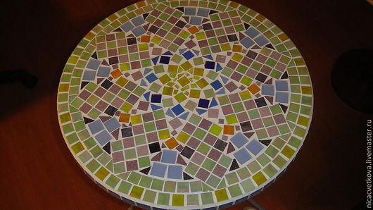 """Мебель ручной работы. Ярмарка Мастеров - ручная работа. Купить Стол """"Роза Ветров"""", мозаика. Handmade. Столик, единственный экземпляр"""