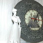 """Для дома и интерьера ручной работы. Ярмарка Мастеров - ручная работа Часы """"Мамина пластинка"""". Handmade."""