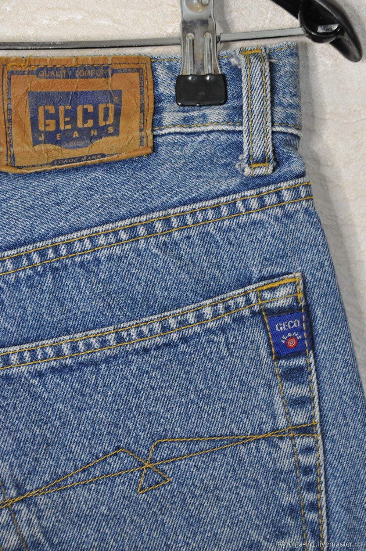 Винтаж: Джинсы GECO Турция, Винтажная одежда, Тверь,  Фото №1