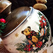 Подарки к праздникам handmade. Livemaster - original item A pot of lime
