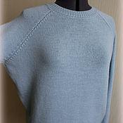 """Одежда ручной работы. Ярмарка Мастеров - ручная работа Свитер """"Sky"""" из 100% мериноса экстрафайн. Handmade."""