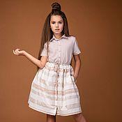 """Платья ручной работы. Ярмарка Мастеров - ручная работа Коктейльное платье-рубашка """"Candy"""". Handmade."""