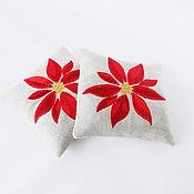 Подарки к праздникам handmade. Livemaster - original item Sachet with embroidery