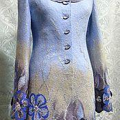 """Одежда ручной работы. Ярмарка Мастеров - ручная работа Пальто """"Яблоневый цвет"""". Handmade."""