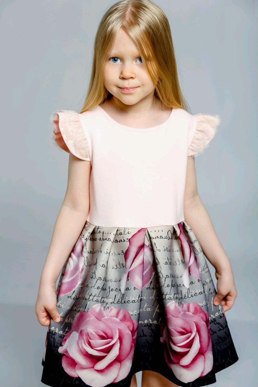 Платье в стиле Monnalisa,рост 104