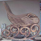 """Для дома и интерьера ручной работы. Ярмарка Мастеров - ручная работа кресло качалка  """"Лебедь"""". Handmade."""