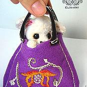 """Куклы и игрушки ручной работы. Ярмарка Мастеров - ручная работа Щенок чихуахуа """"Ландышка"""". Handmade."""