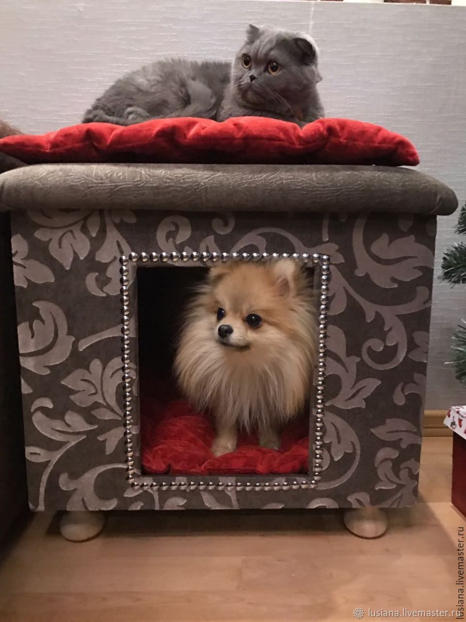 House for dogs and cats. Order in size, in the desired color, Pet House, Ekaterinburg,  Фото №1