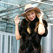 Одежда ручной работы. Ярмарка Мастеров - ручная работа Шуба из темного соболя всего за 149 т.р. в Екатеринбурге.. Handmade.