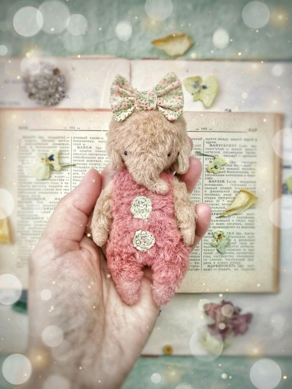 Карманный слоник (Карамелька), Мишки Тедди, Люберцы,  Фото №1