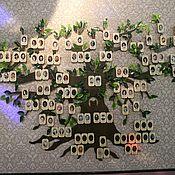 Для дома и интерьера handmade. Livemaster - original item Family tree (wall). Handmade.