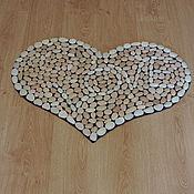 Для дома и интерьера ручной работы. Ярмарка Мастеров - ручная работа Розовое сердце. Handmade.
